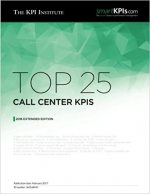 Top 25 Call Center KPIs: 2016 Extended Edition (Top KPIs) (Volume 36)